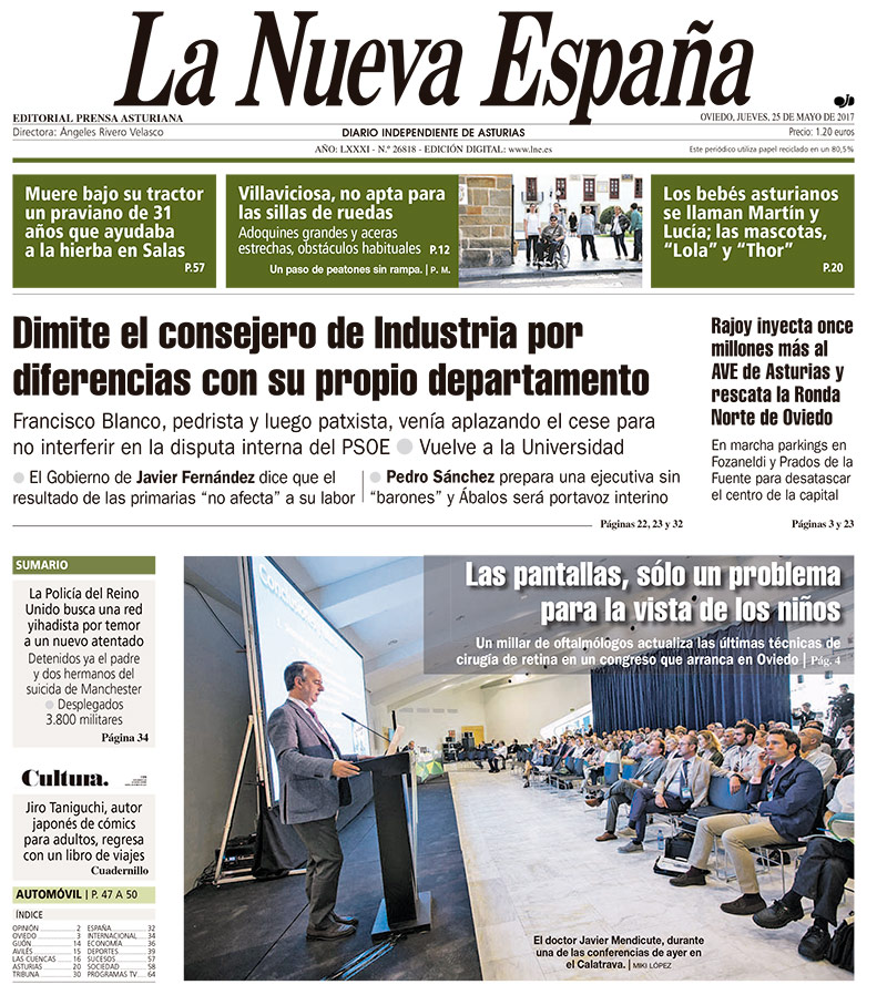Trigésimo segundo congreso de la Sociedad Española de Cirugía Ocular Implanto-Refractiva (SECOIR)